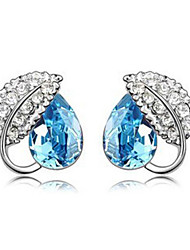 CS High Grade Crystal Korean Style Earrings