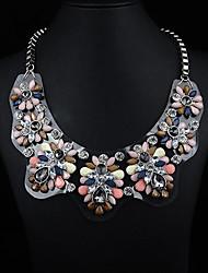 Недорогие -акриловые ожерелье доска драгоценный камень JQ женских украшений