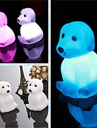 cheap -Coway Creative Romantic Gift Dog Colorful LED Nightlight