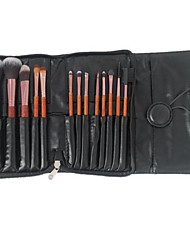 13 Makeup Brushes Set Synthetic Hair / Others Face / Lip / Eye Sedona