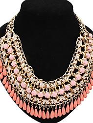 statement kvinders klassikere harpiks luksus overdrive elegant halskæde