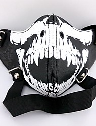 cheap -Mask Inspired by Tokyo Ghoul Cosplay Anime Cosplay Accessories Mask PU Leather Men's New Hot