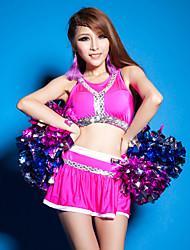 baratos -Fantasias para Cheerleader Roupa Mulheres Espetáculo Elastano