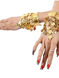 Accessori danza e ballo Gioielli Per donna Paillettes Metallo Monetine Natale Halloween