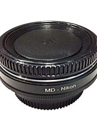 vidro óptico de lentes Minolta newyi md md-nikon adaptador para Nikon D7100 para D7000 D5300 D5200 D3200 d3300 d90 d80