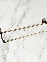 Towel Bar / Antique Brass Brass /Antique