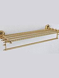 """Недорогие -Полка для ванной / Карбонитрид титана / Крепление на стенуМедь /Античный /62cm(24.4"""") 24cm(9.5"""") 1.7kg"""