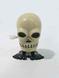 Недорогие -Хэллоуин подарки поставляет пластик на цепи прыжки черепа Tricky игрушки