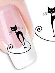 cheap -Water Transfer Printing Nail Stickers XF1442