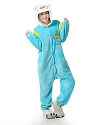 Недорогие -Время приключений с Финном и Джейк кигуруми фланелевые пижамы мультфильм пижамы Хеллоуин костюм