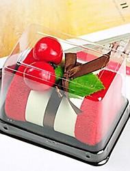 tovagliolo creativo torta di compleanno regalo di fibra forma (colore casuale)