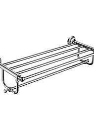 cheap -Towel Bar High Quality Contemporary Brass Stainless Steel Zinc Alloy 1 pc - Hotel bath Double