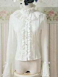 cheap -Classic Lolita Dress Princess Chiffon Women's Blouse/Shirt Cosplay Long Sleeves