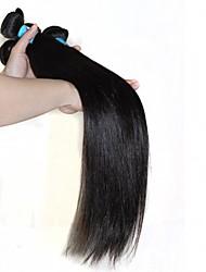 Cabelo Peruviano Reto Tramas de cabelo humano 1 Peça 0.1