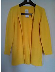 cheap -Z.Y.P Women's Casual Loose Large Yard Medium Long Knitwear Sweater Cardigan Coat
