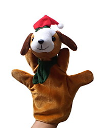 cheap -Christmas Dog Large-sized Hand Puppets Toys