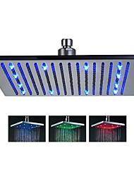 cheap -Contemporary Rain Shower Brushed Feature-Rainfall LED , Shower Head