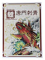 abordables -carpe Tangmen livre motif de tatouage