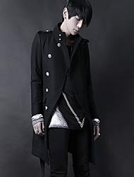 Недорогие -Men's Fashion Show Thin Design Coat