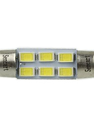 cheap -Festoon Car White 3W SMD 5730 6000-6500 Reading Light