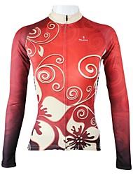 baratos -ILPALADINO Camisa para Ciclismo Mulheres Manga Comprida Moto Camisa/Roupas Para Esporte Blusas Secagem Rápida Respirável 100% Poliéster