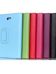 8 pollici due del modello pieghevole pu custodia in pelle con supporto per il Dell Venue Pro 8 (colori assortiti)