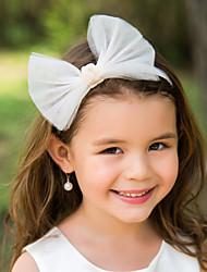 Недорогие -tulle bowknot цветок девушка детский головной убор головной убор элегантный стиль
