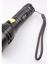 LED Flashlights/Torch Handheld Flashlights/Torch LED 2400 Lumens 5 Mode Cree XM-L2 T6 Batteries not included Waterproof for