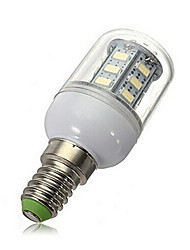 cheap -2800-3000/6000-6500 lm E14 LED Spotlight 27 leds SMD 5730 Warm White Cold White AC 220-240V