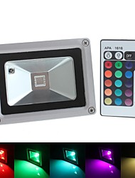 cheap -1pc 10 W 800 lm 1 LED Beads Integrate LED Waterproof / Remote-Controlled / Decorative RGB 85-265 V