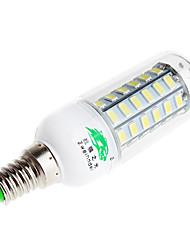 cheap -Zweihnder  E14 9W 800lm 6500K 56 x SMD 5730 Lamp LED White Light Corn Light (AC 220V)