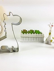 cheap -Giraffe Cookie Cutter Metal Animal Biscuit Bread Mold Stainless Steel DIY Baking Tools