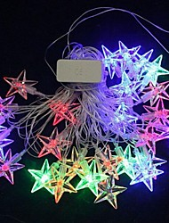 Christmas Stars  4.5M  28 LED Colorful  String Lights