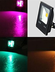 Недорогие -высокое качество 20w RGB LED прожектор CE&RoHS с дистанционным управлением (85-265)