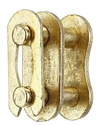 Недорогие -5шт золотой # 420, соединяющий приводную цепь