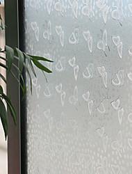 blanche gracieuse fenêtre papillon film - 0,5 x 5 m (1,64 × 16,4 pi)