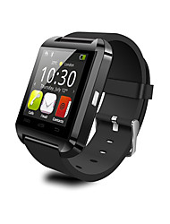 cheap -U8 Wearable Smartwatch,Camera Message Media Control/Hands-Free Calls/Anti-lost for Android/iOS Smartphone