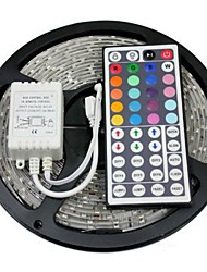 cheap -RGB Strip Lights Light Sets Flexible LED Light Strips LEDs RGB Remote Control / RC Cuttable Dimmable Waterproof Color-Changing