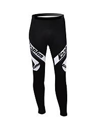 cheap -Kooplus Cycling Tights Men's Women's Unisex Bike Pants / Trousers Winter Fleece Bike Wear Thermal / Warm Waterproof Zipper Wearable