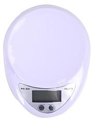 Недорогие -megoodo цифровой кухонные весы (5кг разрешение макс / 1г)