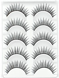 cheap -Eyelashes lash Eyelash Natural Long Volumized Natural Fiber Cosmetic Beauty Care Makeup for Face