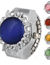 cheap -Women's Wrist watch Fashion Watch Quartz Casual Watch Alloy Band Flower Silver