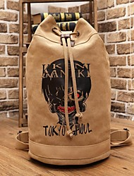 Bag Inspired by Tokyo Ghoul Cosplay Anime Cosplay Accessories Bag Brown Canvas Male