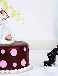 Недорогие -красивый торт topper vegas тема смола с элегантным свадебным приемом