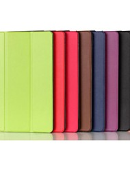 cheap -Case For iPad Mini 4 iPad Mini 3/2/1 iPad 4/3/2 iPad Air 2 iPad Air with Stand Origami Full Body Cases Solid Color PU Leather for iPad