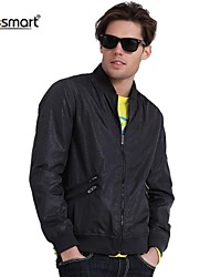 cheap -Men's Classic & Timeless Jacket-Solid Color,Pure Color