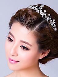 Mujer Diamantes Sintéticos Aleación Celada-Boda Ocasión especial Tiaras Bandas de cabeza