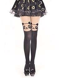 Socks/Stockings Sweet Lolita Classic/Traditional Lolita Princess See Through Lolita Accessories Stockings Print For Velvet