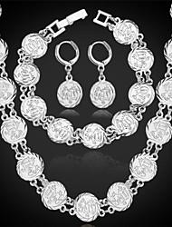 baratos -u7® novo do vintage allah brincos colar pulseira conjunto de alta qualidade de platina 18k banhado a ouro islâmica presente da jóia muçulmanos