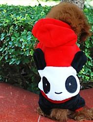 preiswerte -Hund Kostüme Kapuzenshirts Austattungen Hundekleidung Cosplay Halloween Tier Rot Kostüm Für Haustiere
